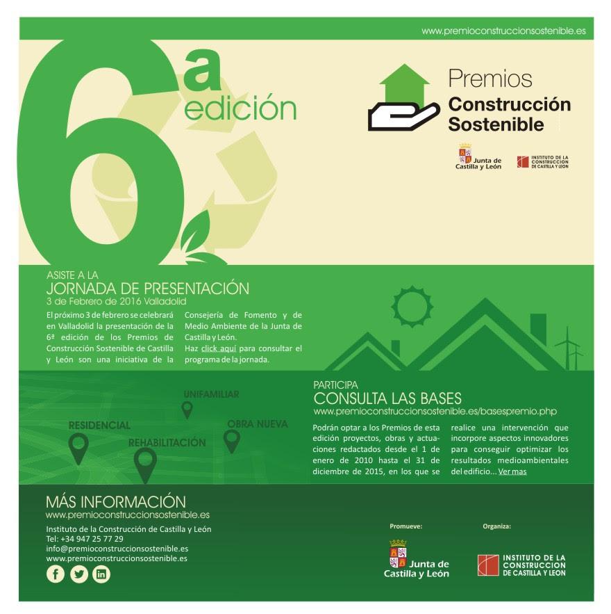 Premios construcción sostenible